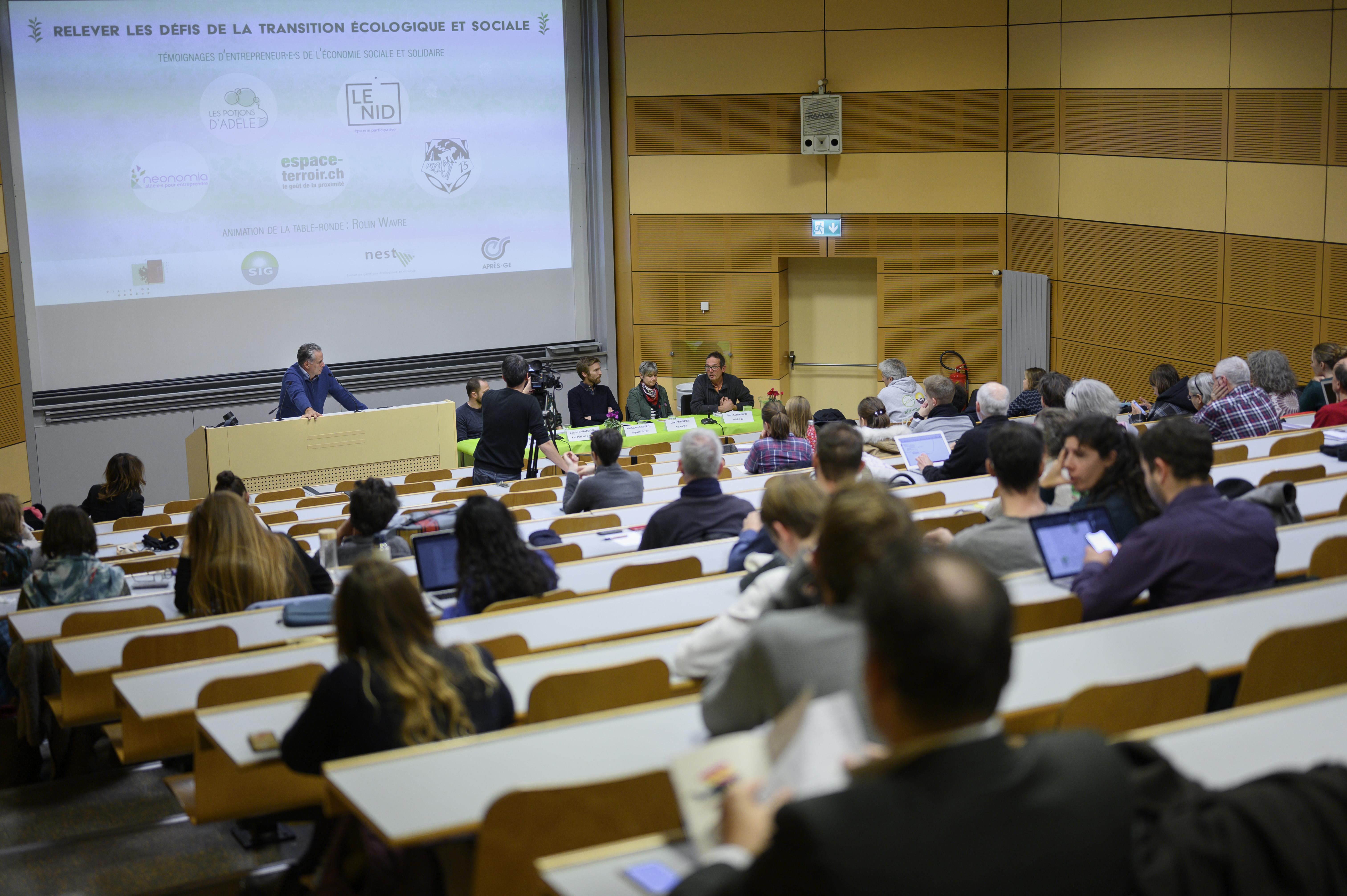 Relever les défis de la transition écologique et sociale: témoignages d'entrepreneur.e.s de l'Économie sociale et solidaire (ESS)