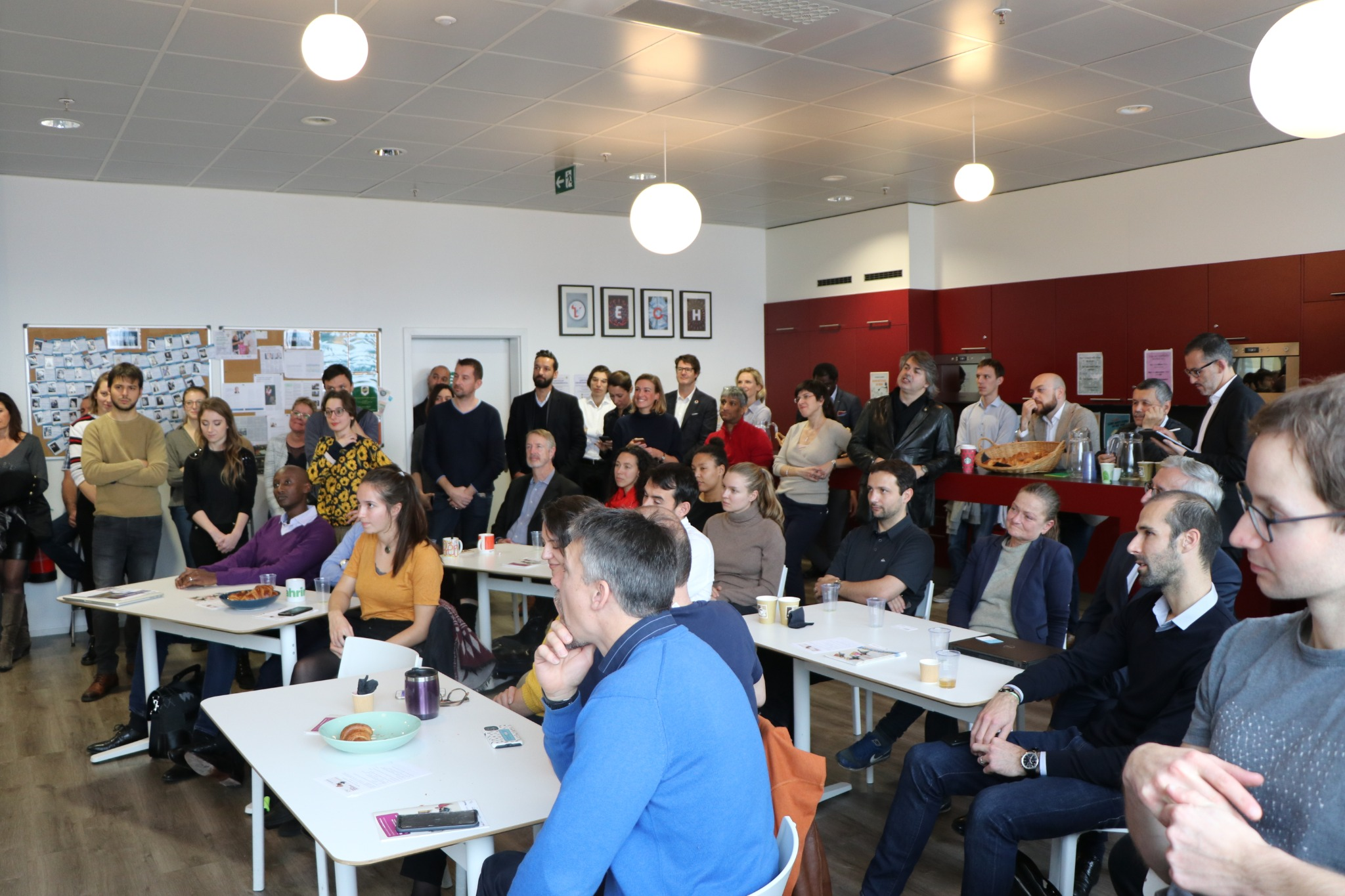 Fongit Open Day- Cafe, Croissants & Incubator Tour